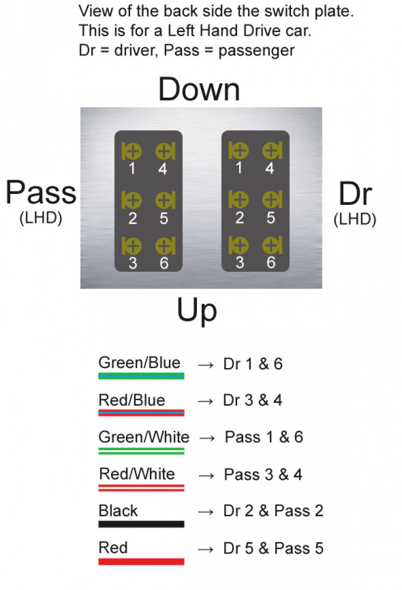 Gm Power Window 5 Pin Switch Wiring Diagram | Wiring Library - 5 Pin Power Window Switch Wiring Diagram