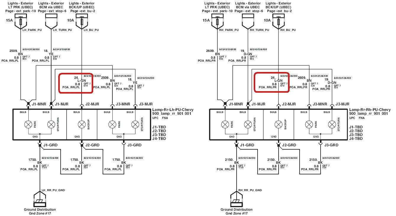 Gm Trailer Harness | Wiring Library - 2003 Chevy Silverado Trailer Wiring Diagram