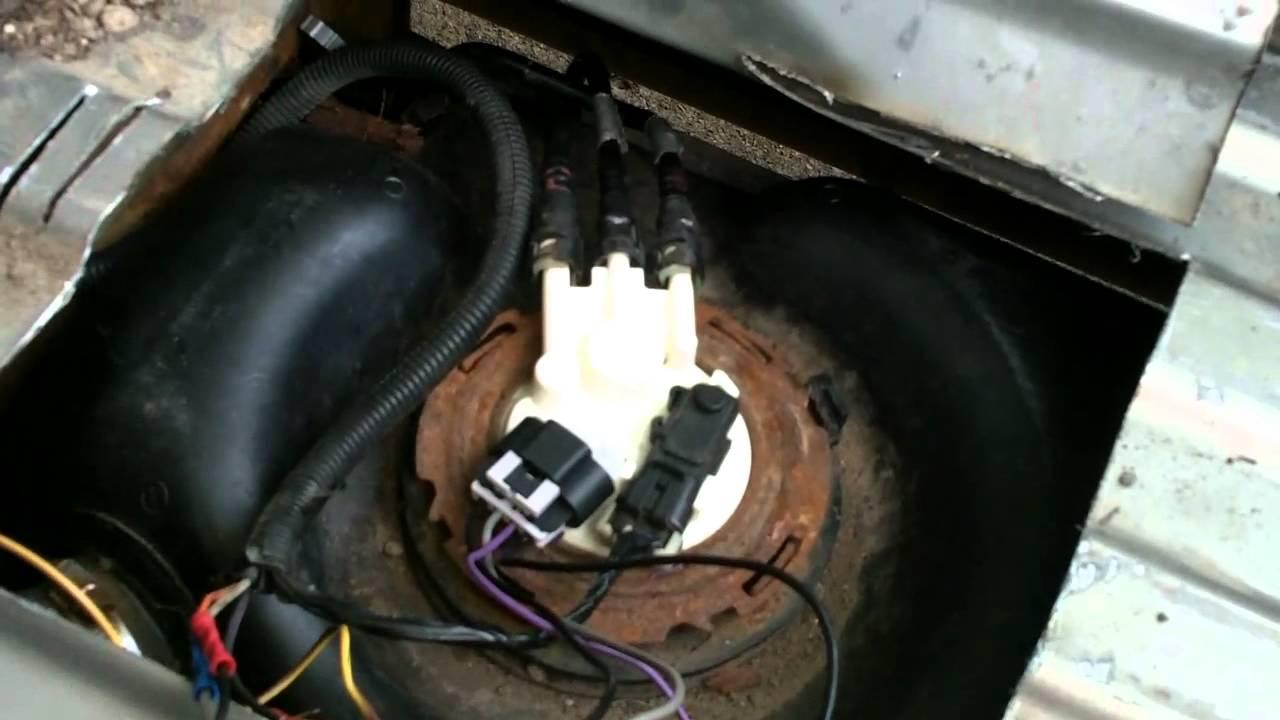 Gmc / Silverado Pickup Quick Fuel Pump Fix. - Youtube - 2000 Chevy Silverado Fuel Pump Wiring Diagram