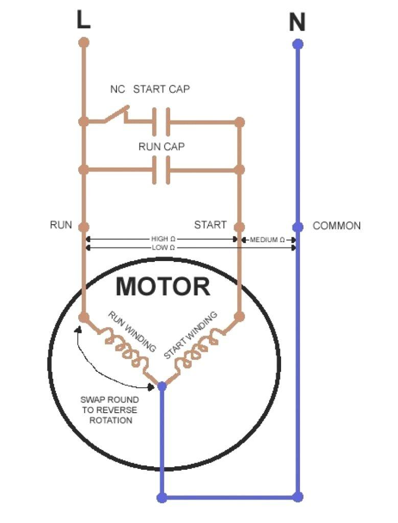 Godrej Refrigerator Compressor Wiring Diagram Fridge Whirlpool For - Compressor Wiring Diagram Single Phase