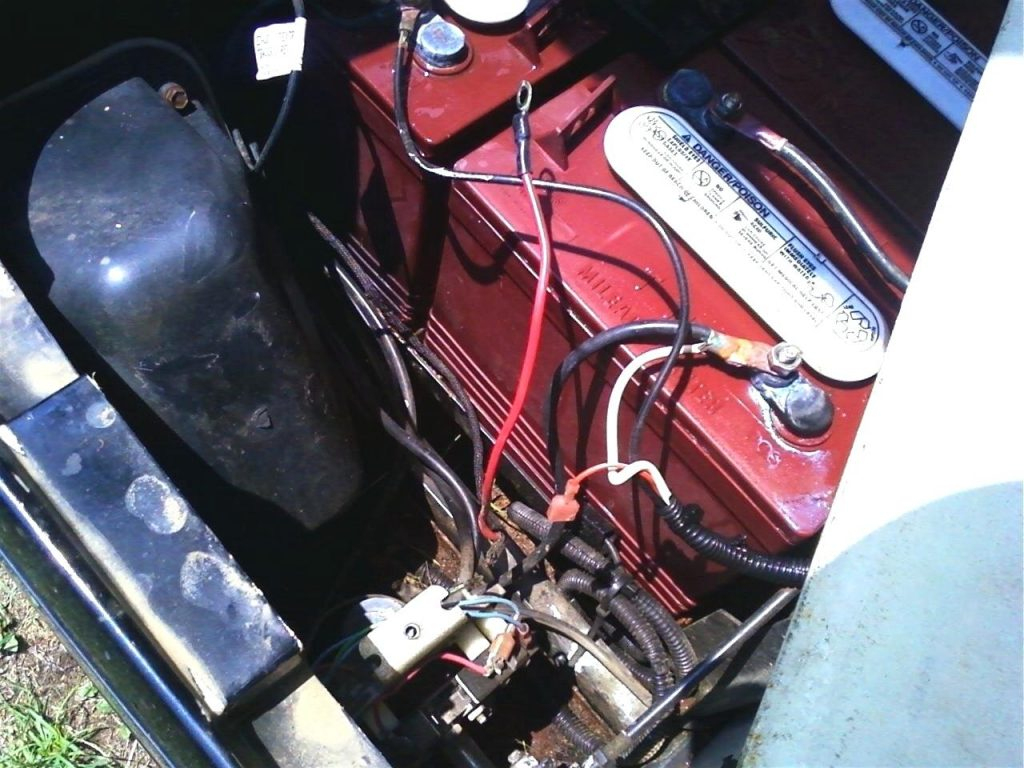 Golf Cart Battery Wiring Diagram Ez Go | Manual E-Books - Ez Go Golf Cart Battery Wiring Diagram