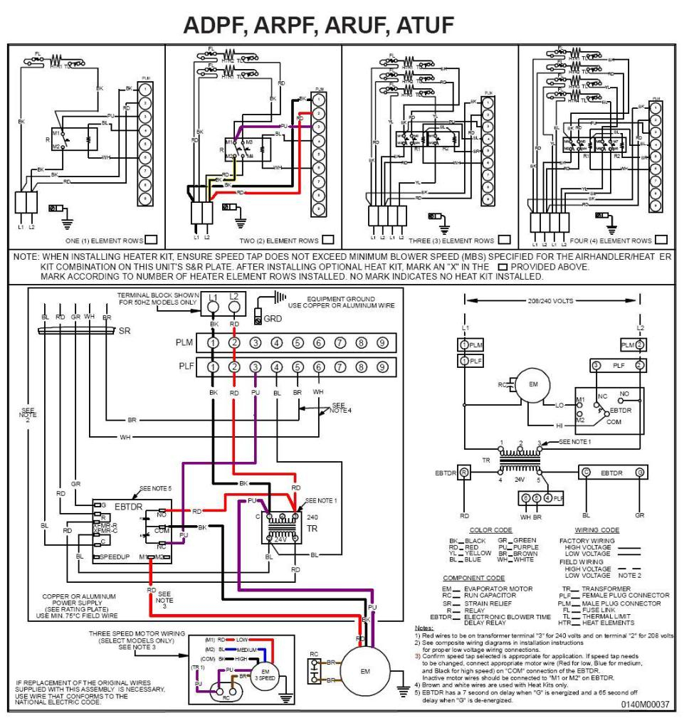 Goodman Air Handler To Thermostat Wiring Diagram | Wiring Diagram - Goodman Air Handler Wiring Diagram