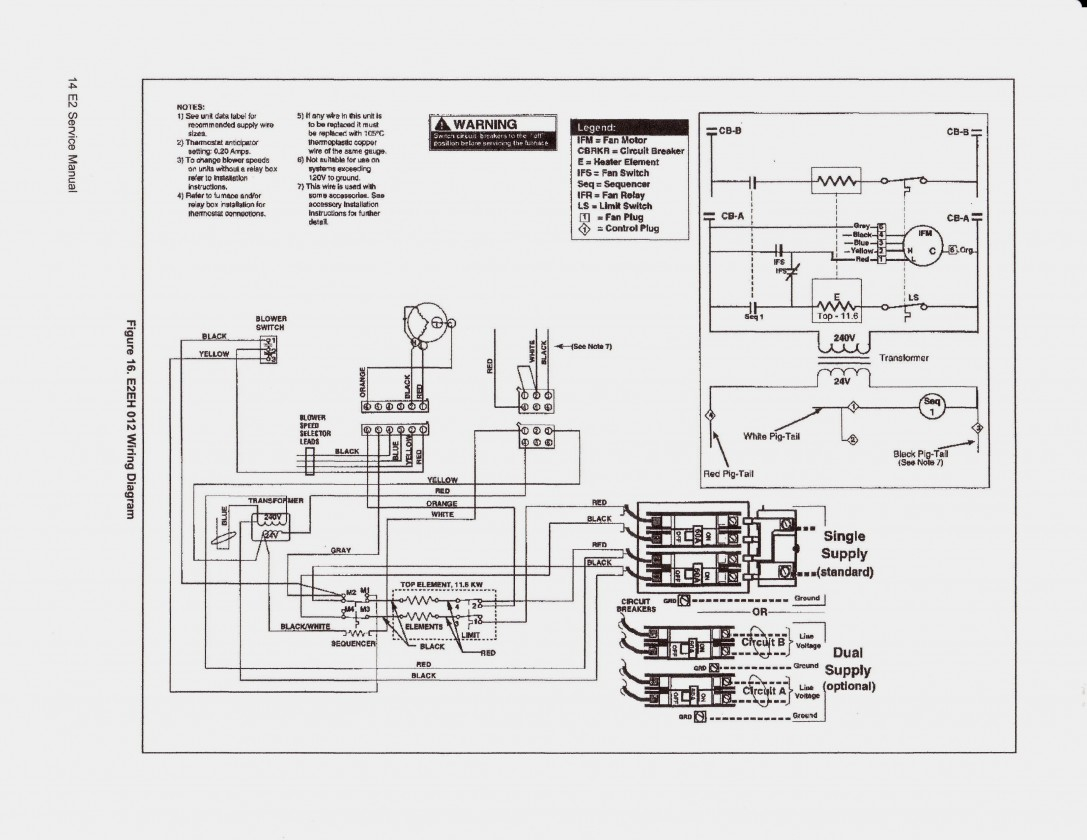 Goodman Electric Furnace Sequencer Wiring Diagram   Wiring Diagram - Electric Furnace Sequencer Wiring Diagram