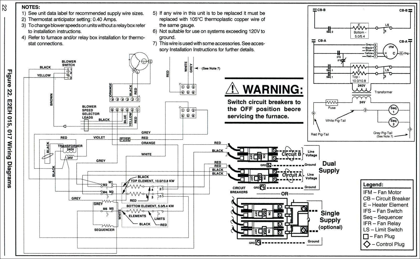Goodman Electric Furnace Wiring Diagram - Panoramabypatysesma - Electric Furnace Wiring Diagram Sequencer