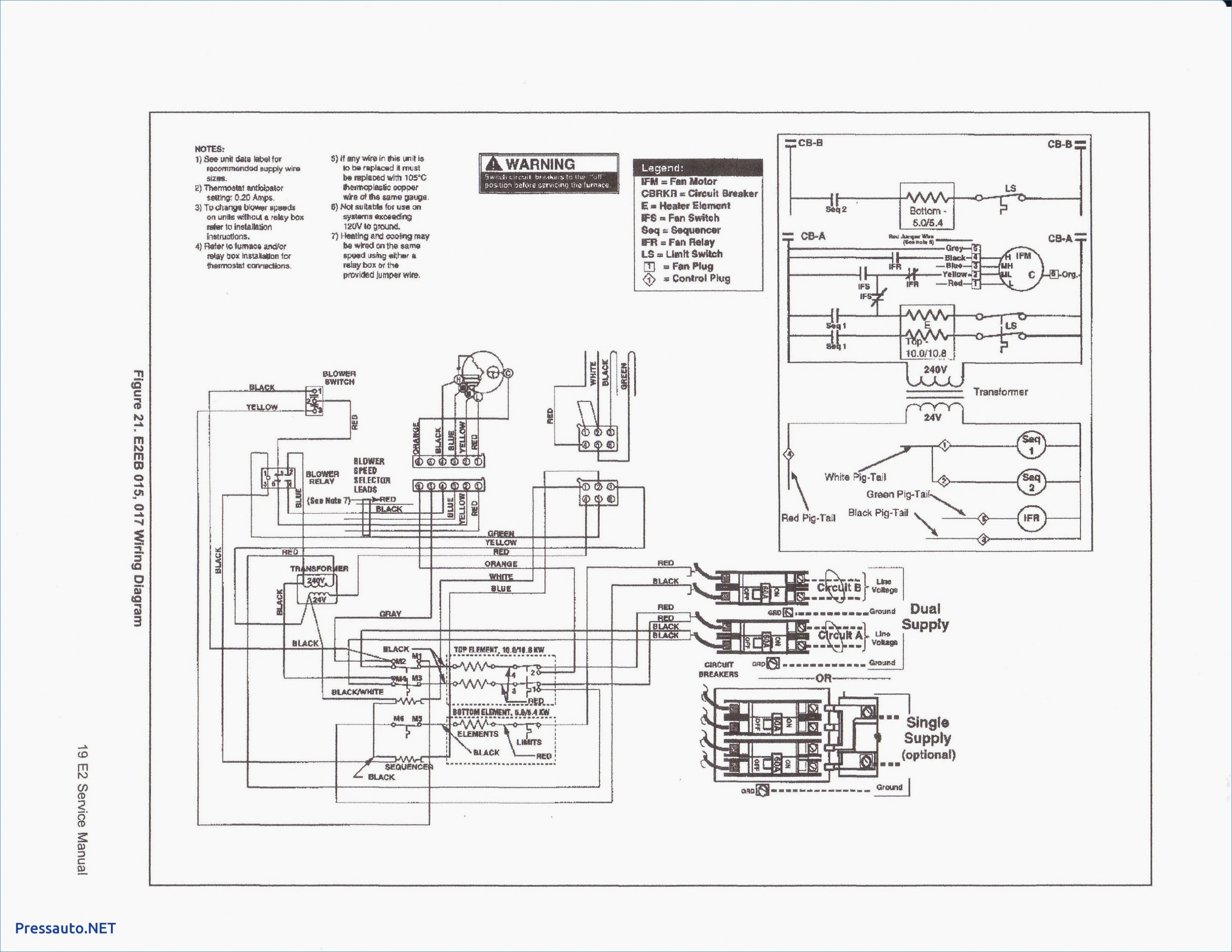 Goodman Furnace Thermostat Wiring Diagram from 2020cadillac.com