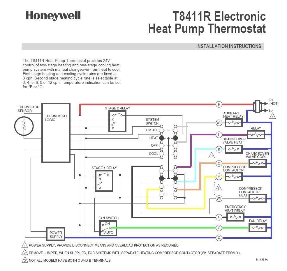 Goodman Heat Pump T Stat Wiring Diagram   Schematic Diagram - Trane Heat Pump Wiring Diagram