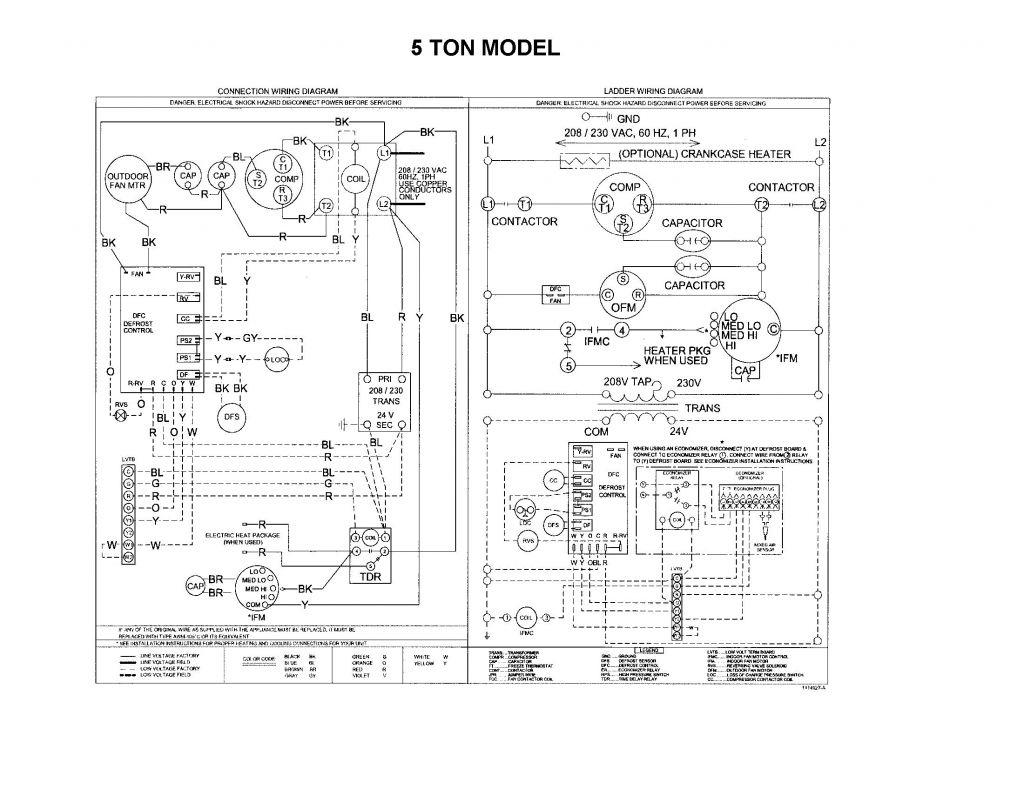Goodman Heat Pump Thermostat Wiring Diagram - Zookastar - Goodman Heat Pump Thermostat Wiring Diagram