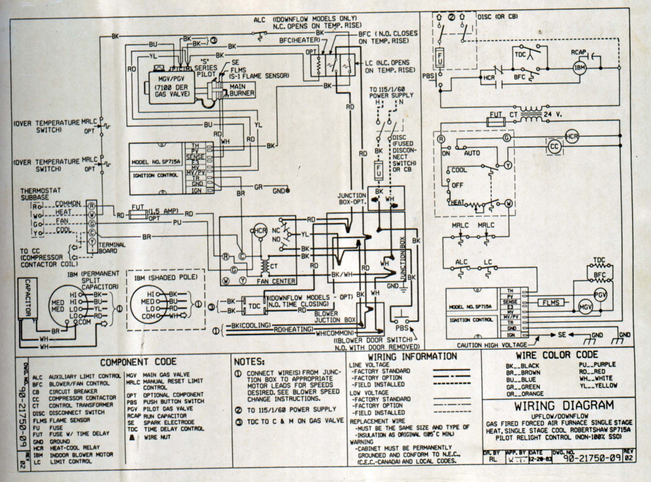 Goodman Heat Pump Wiring Diagram - Wiring Diagrams Hubs - Goodman Heat Pump Wiring Diagram