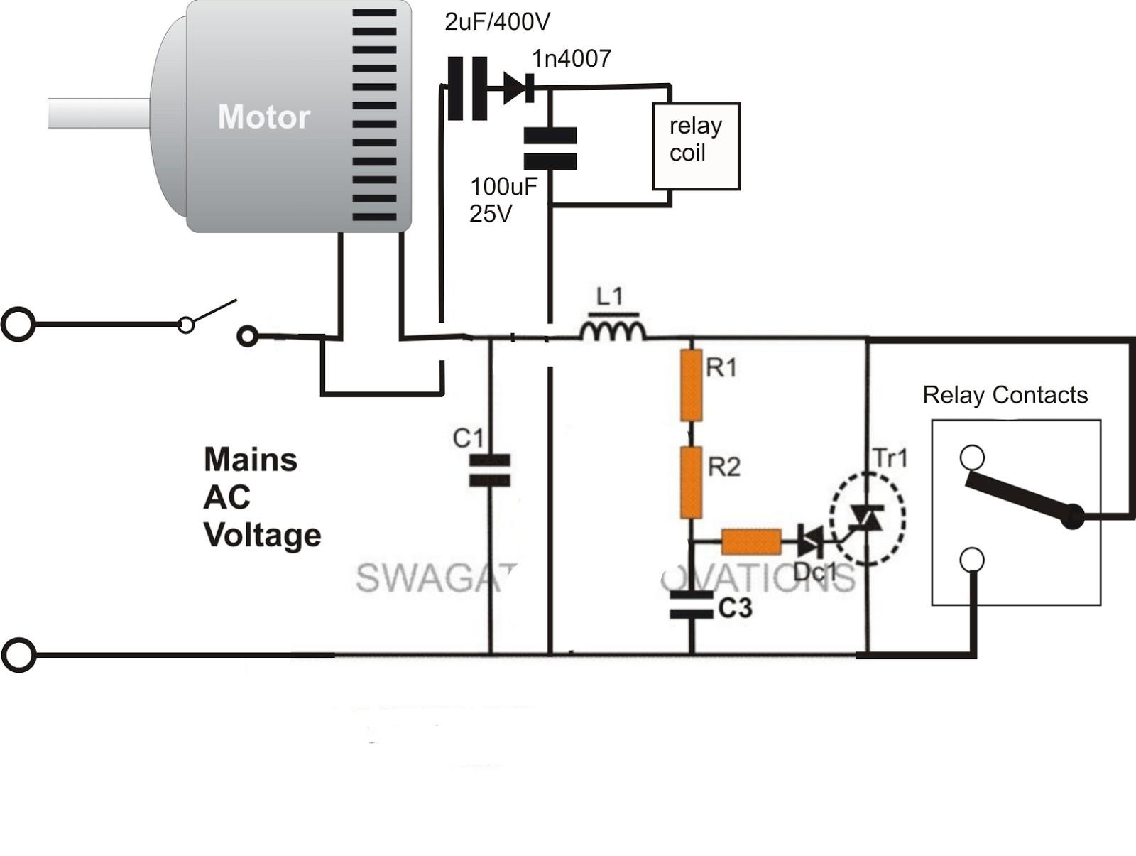 Goodman Run Capacitor Wiring Diagram - Wiring Diagram Explained - Motor Run Capacitor Wiring Diagram
