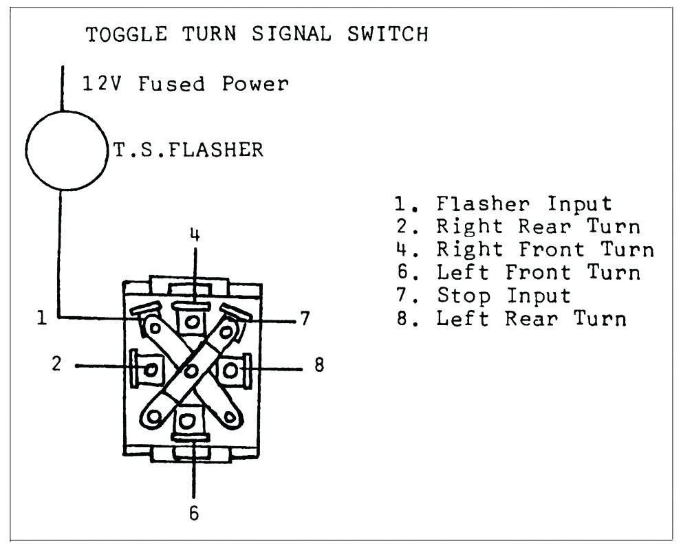 Grote Turn Signal Switch Wiring Diagram | Wiring Diagram - Universal Turn Signal Switch Wiring Diagram