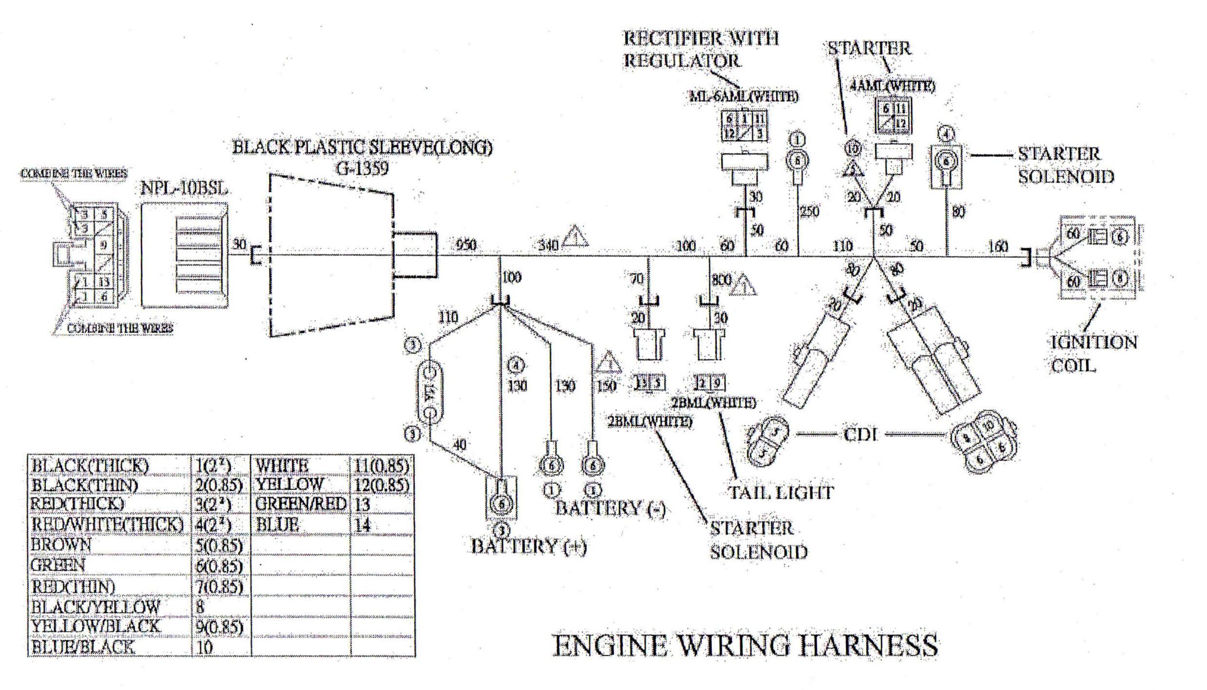 Gy6 150Cc Engine Wiring Diagram | Releaseganji - Gy6 150Cc Wiring Diagram