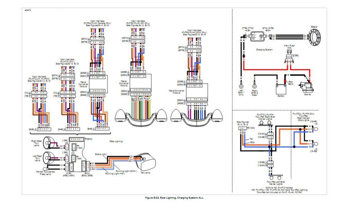 Harley Radio Wiring Harness | Manual E-Books - Harley Davidson Radio Wiring Diagram