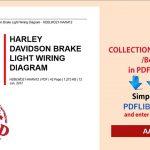 Harley Sportster Tail Light Wiring Diagram | Wiring Library   Harley Davidson Tail Light Wiring Diagram
