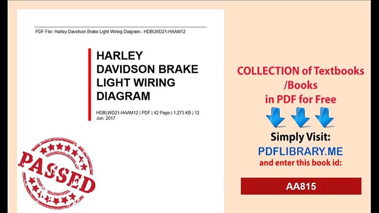 Harley Sportster Tail Light Wiring Diagram | Wiring Library - Harley Davidson Tail Light Wiring Diagram