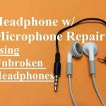 Headphone W/ Microphone Repair (Unbroken Headphone Set)   Youtube   3.5 Mm Headphone Jack Wiring Diagram