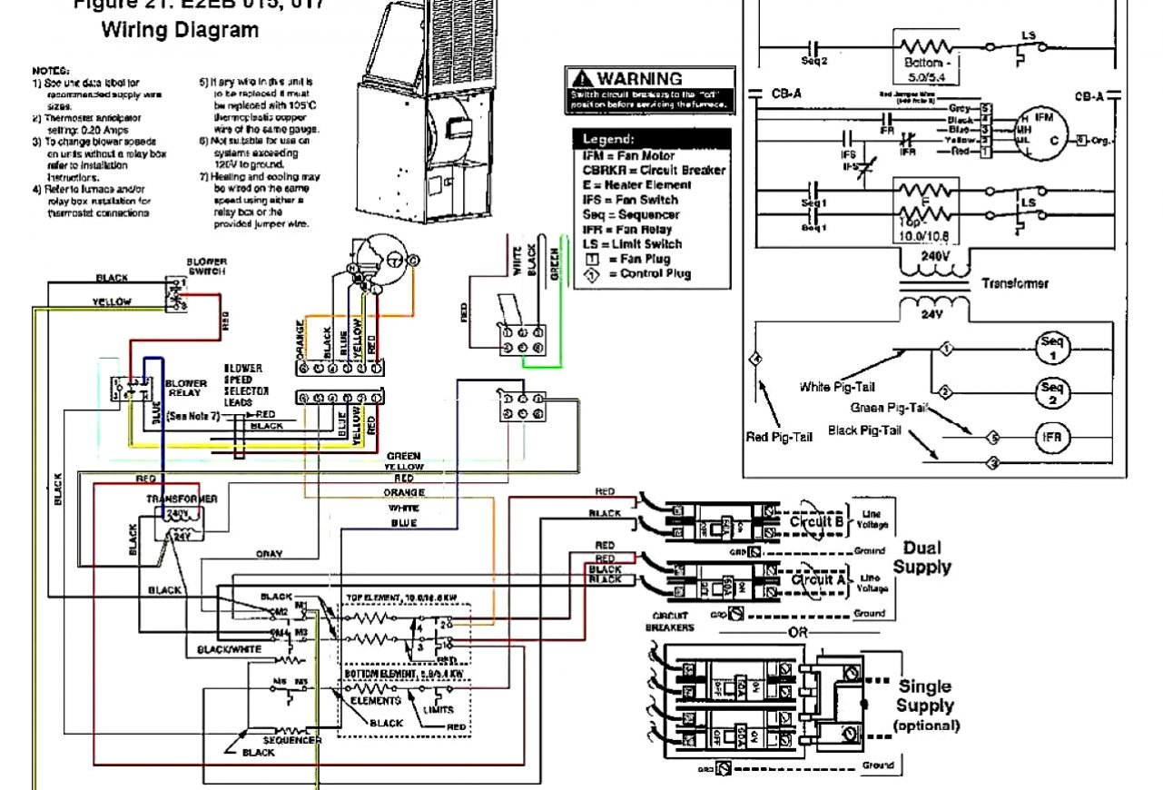Heil Furnace Wiring - Wiring Diagrams Hubs - Coleman Electric Furnace Wiring Diagram