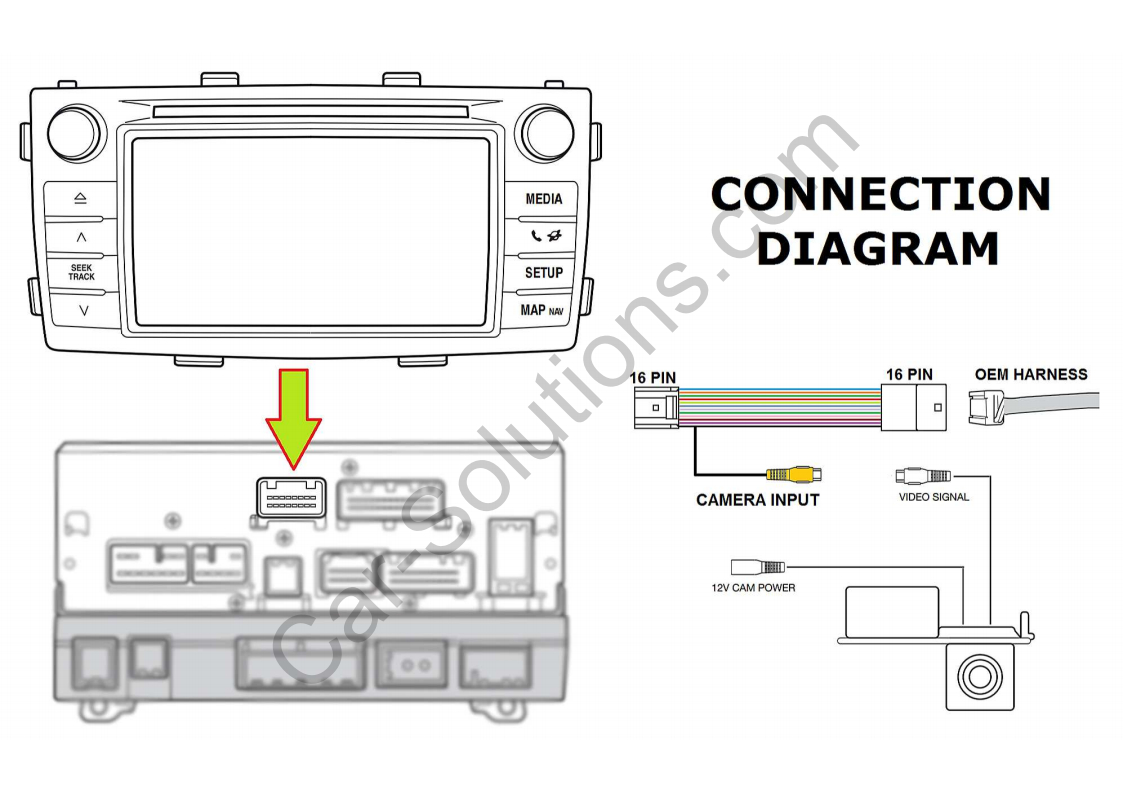 Hilux Reverse Camera Wiring Diagram | Wiring Diagram - Toyota Reverse Camera Wiring Diagram