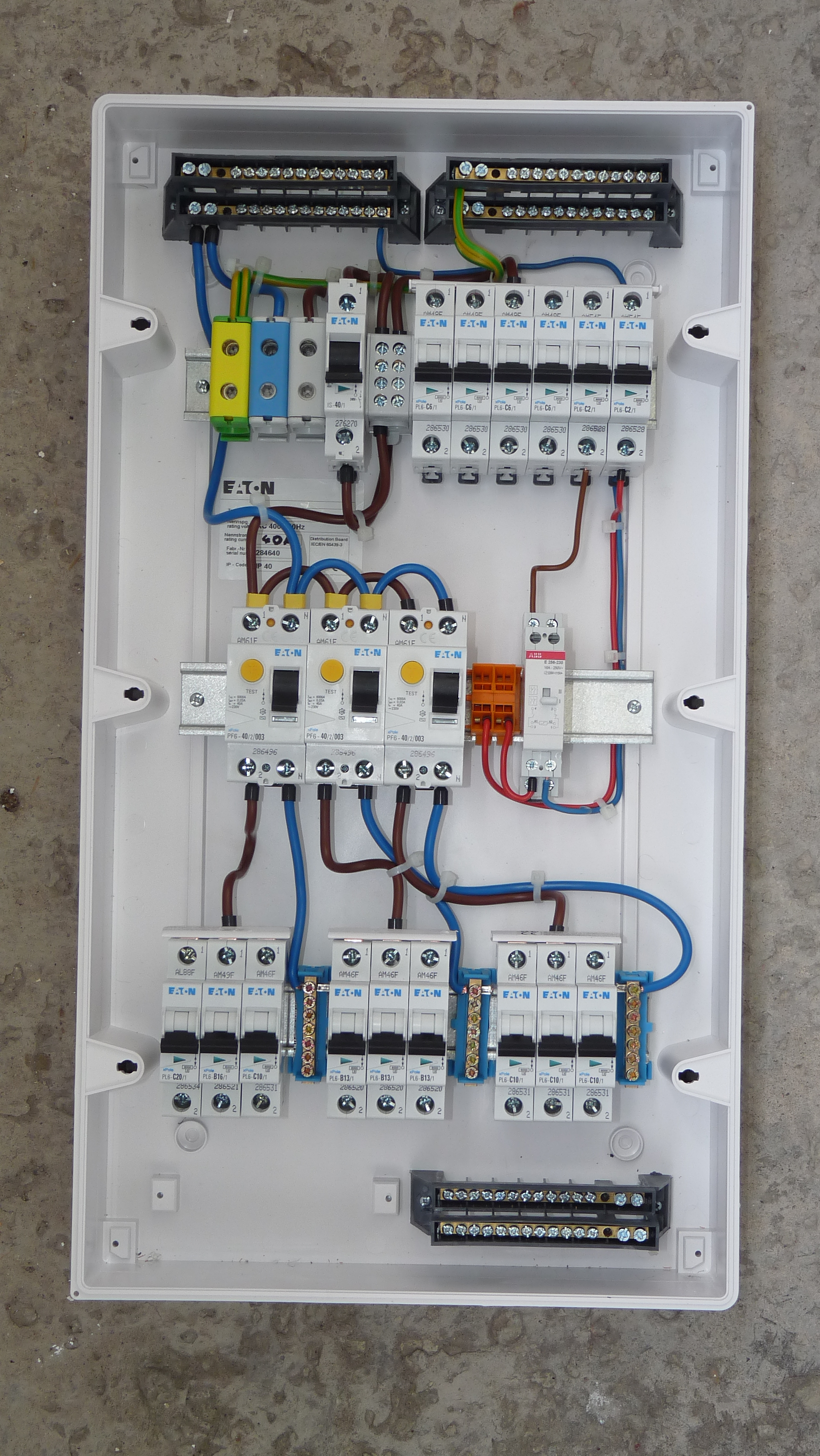 Home Fuse Box Wiring - Data Wiring Diagram Schematic - Electrical Circuit Diagram House Wiring