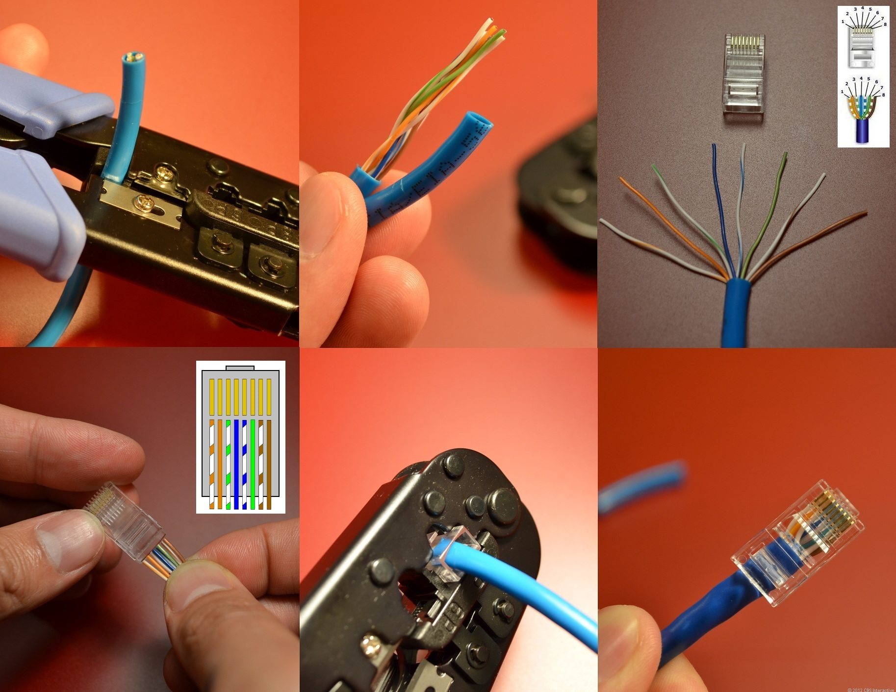Home Networking Explained, Part 3: Taking Control Of Your Wires - Cnet - Cat 6 Wiring Diagram
