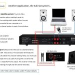Home Theater Subwoofer Wiring Install   Wiring Diagrams Hubs   Home Speaker Wiring Diagram