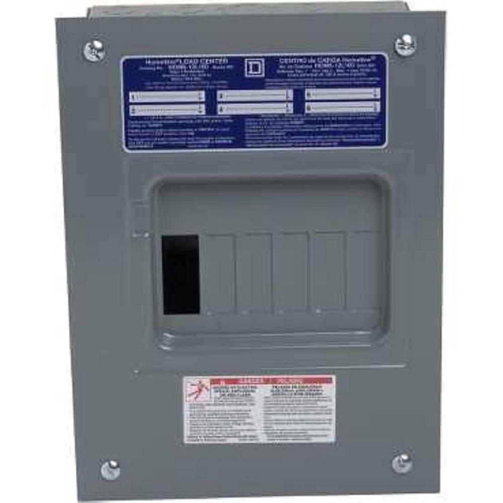 Homeline Load Center Hom6 12L100 Wiring Diagram | Manual E-Books - Square D Homeline Load Center Wiring Diagram
