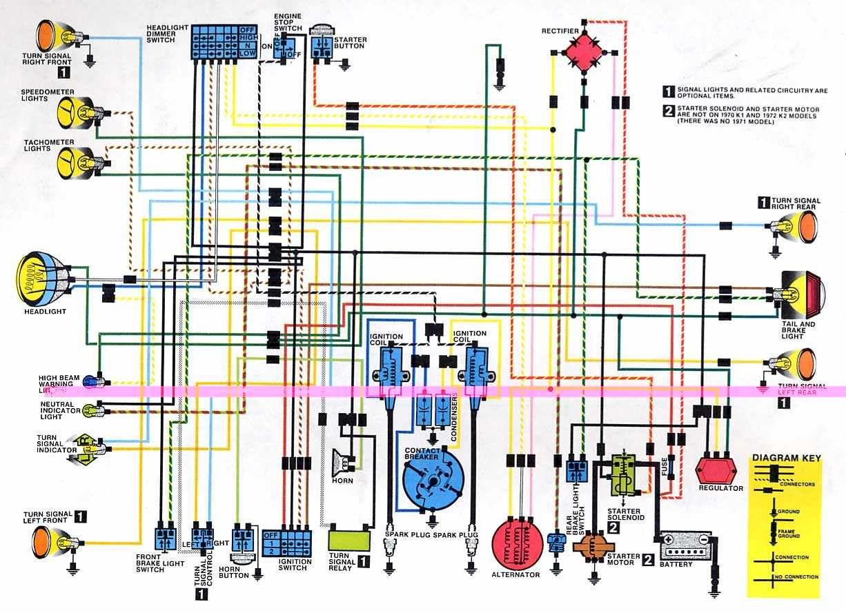 Honda Motorcycle Wiring Diagrams | Bikes | Honda, Motorcycle, Honda - Honda Motorcycle Wiring Diagram