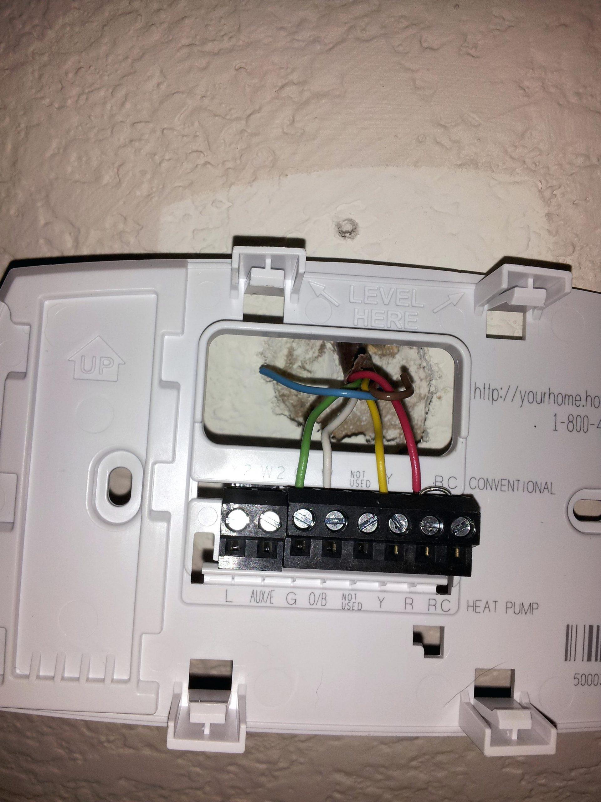 Honeywell Heat Pump Thermostat Wiring Diagram - Lorestan - Honeywell Heat Pump Thermostat Wiring Diagram