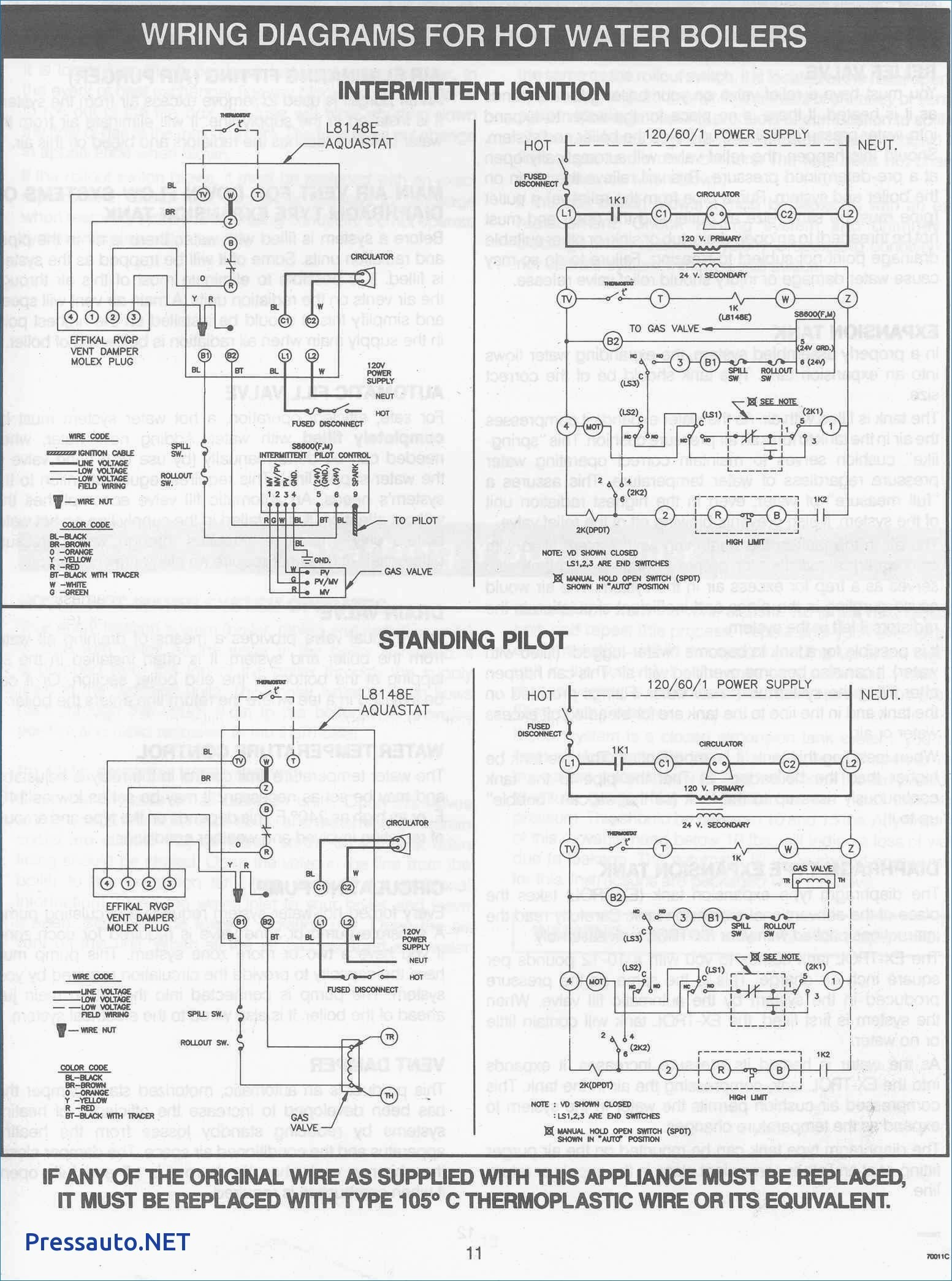First Company Hydronic Air Handler Wiring Diagram