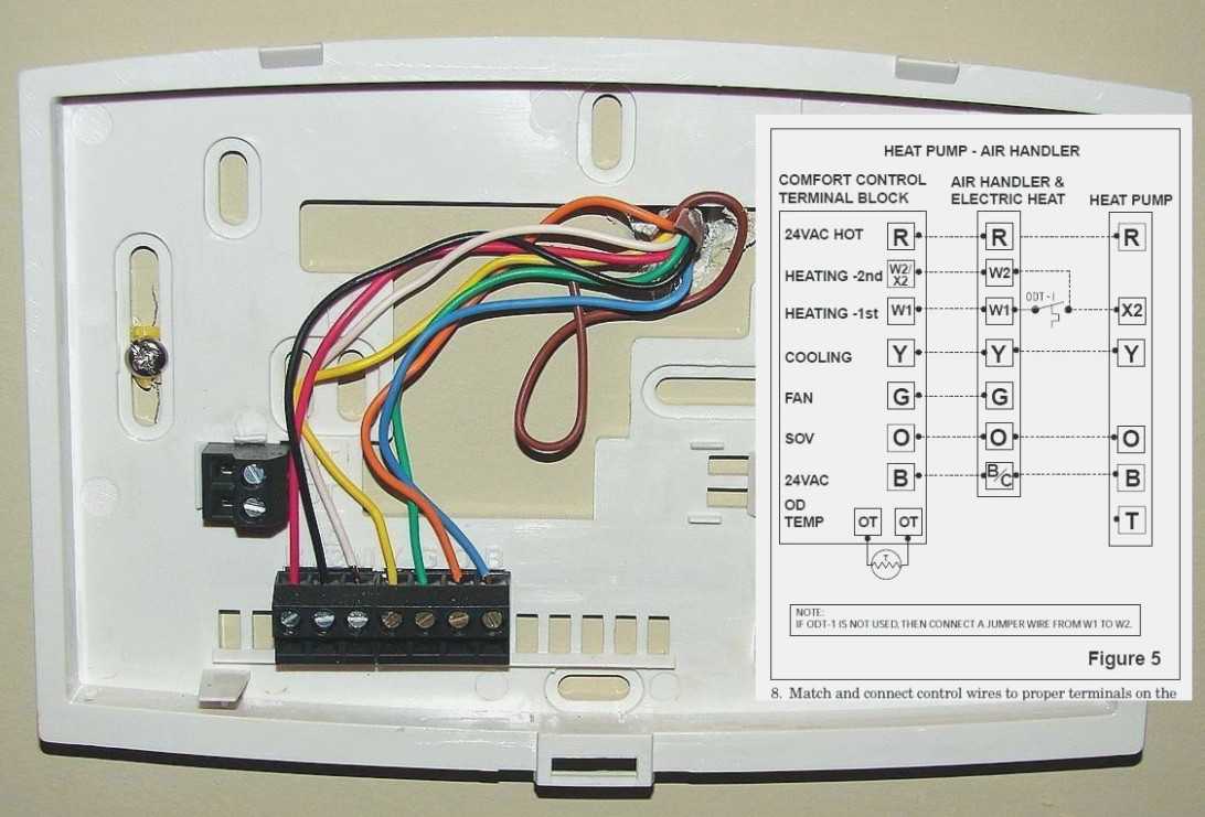 Honeywell Programmable Thermostat Wiring Diagram - Wiring Diagram Data - Honeywell Thermostat Wiring Diagram