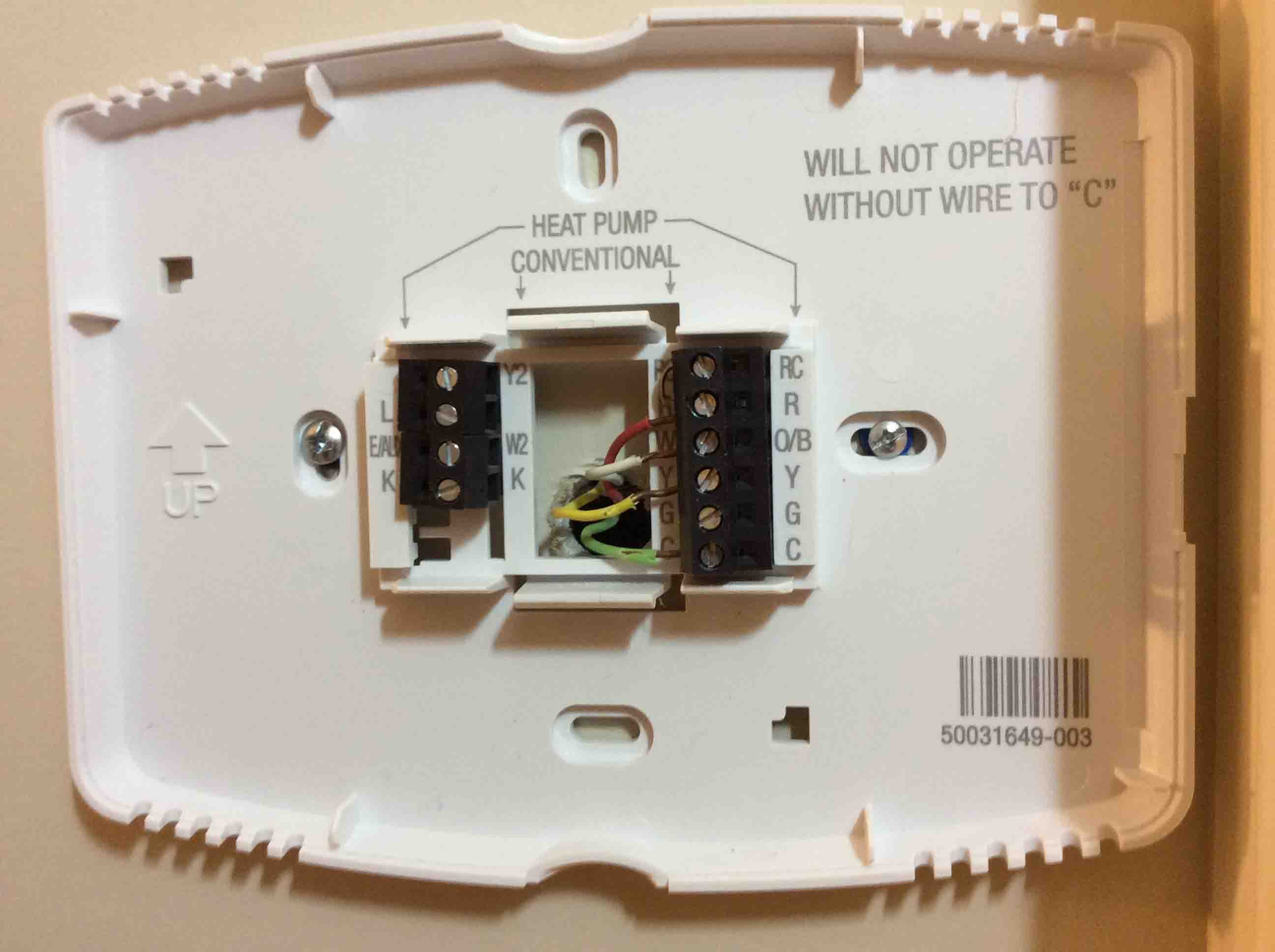 Honeywell Thermostat Wiring Diagram 4 Wire | Tom's Tek Stop - 4 Wire Thermostat Wiring Diagram