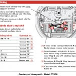 Honeywell Thermostat Wiring Instructions | Diy House Help   Wiring Diagram For Thermostats