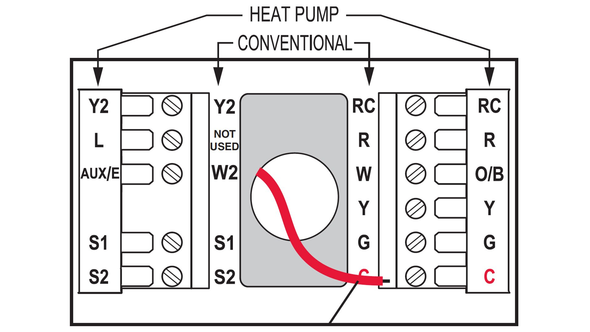 Honeywell Thermostat Wiring X Heat Pump Thermostat Wiring Diagram - Wiring Diagram For Thermostats