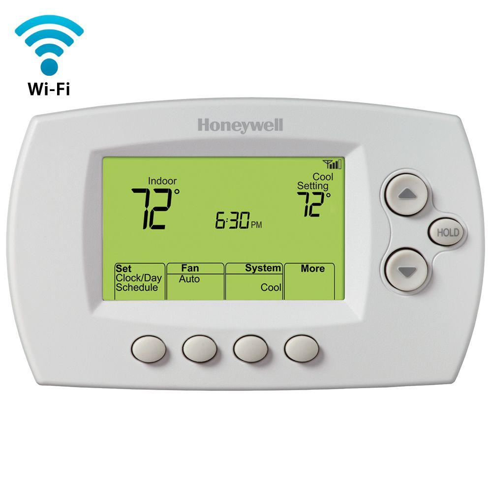 Honeywell Wi-Fi 7 - Day Programmable Thermostat + Free App-Rth6580Wf - Honeywell Wifi Thermostat Wiring Diagram