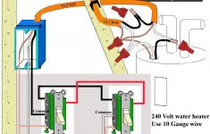 240V Water Heater Wiring Diagram