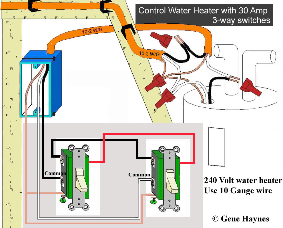 Hot Water Heater 240V Wiring | Wiring Diagram - 240V Water Heater Wiring Diagram