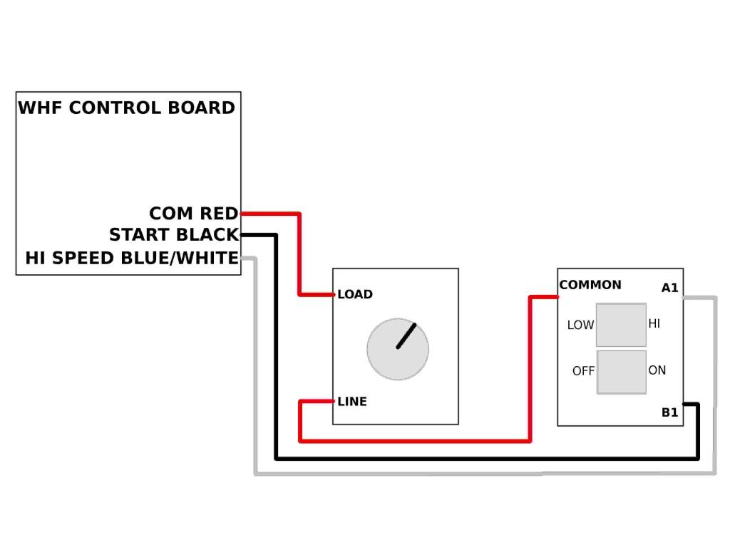 House Fan Wiring - Wiring Diagram Data - 2 Speed Whole House Fan Switch Wiring Diagram