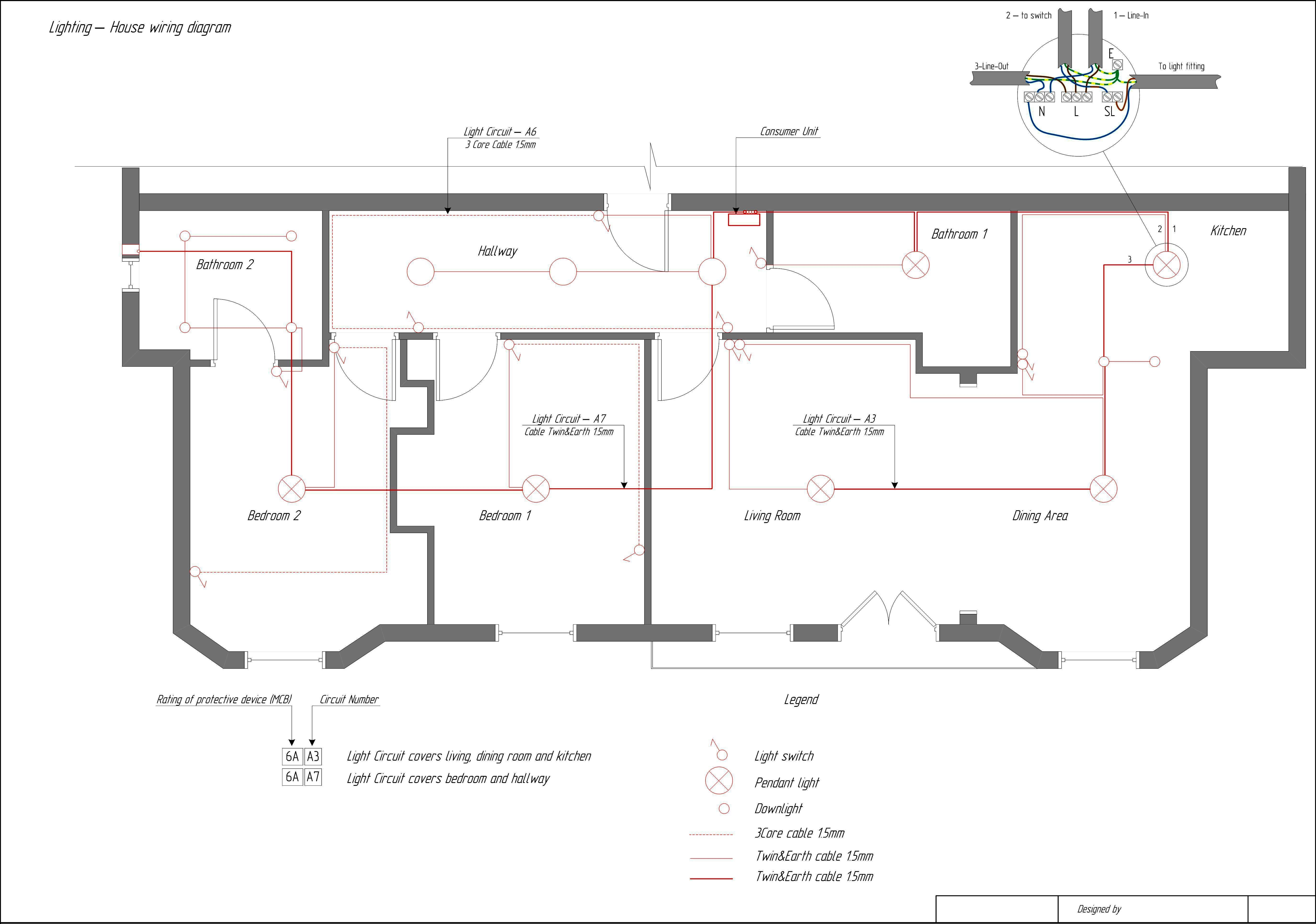 House Wiring Diagrams - Data Wiring Diagram Schematic - Electrical Circuit Diagram House Wiring