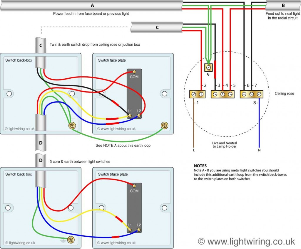 How To 2 Way Switch Wiring Diagram - Wiring Diagram Data Oreo - Two Way Switch Wiring Diagram