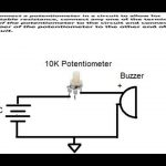 How To Connect A Potentiometer In A Circuit   Youtube   Potentiometer Wiring Diagram