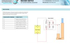 How To Connect A Rocker Switch To A Linear Actuator – Actuator Zone – Illuminated Rocker Switch Wiring Diagram