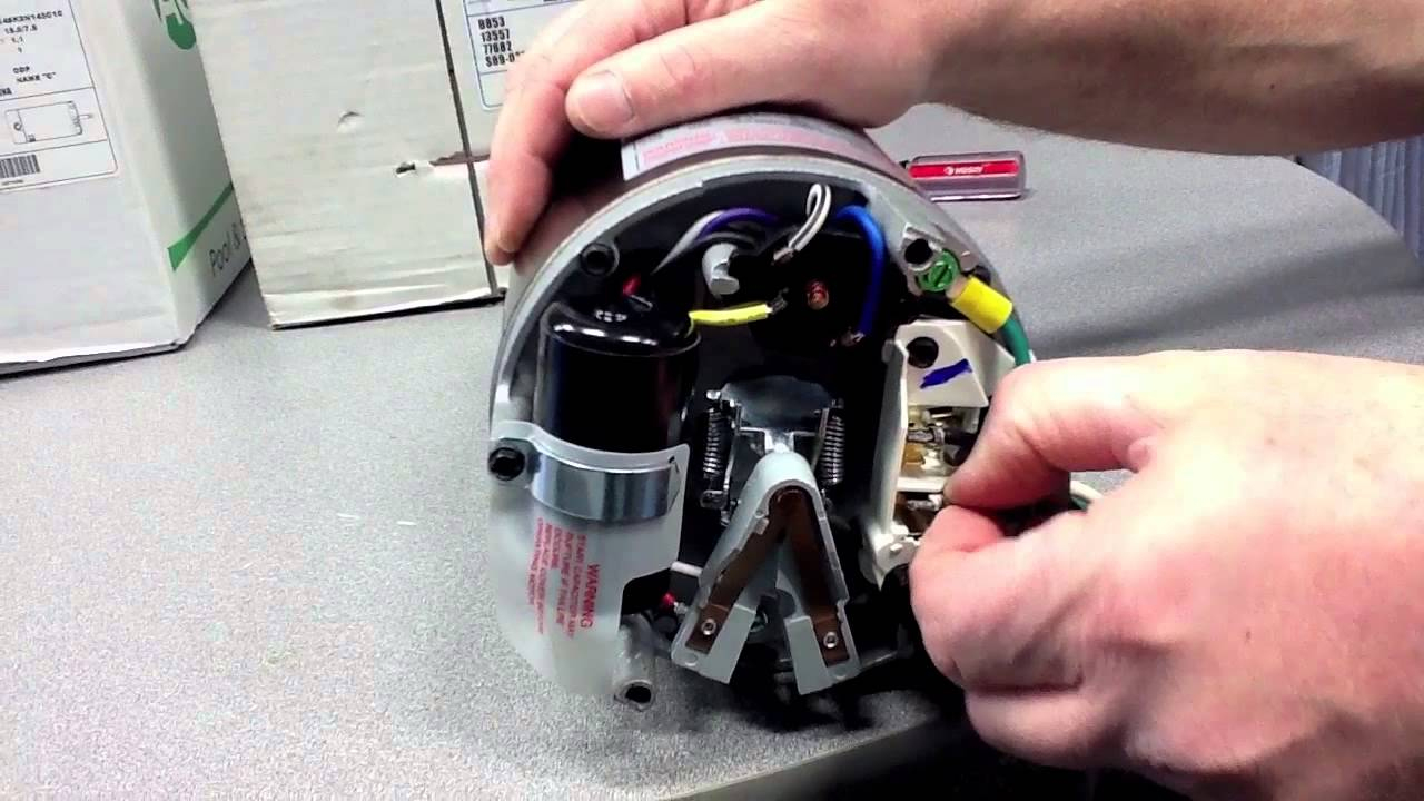 How To Convert An Inground Pool Pump Motor From 115V To 230V - Youtube - Hayward Super Pump Wiring Diagram