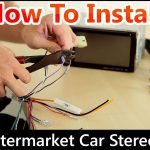 How To Correctly Install An Aftermarket Car Stereo, Wiring Harness   7010B Stereo Wiring Diagram
