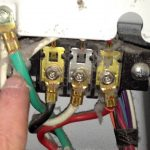 How To Correctly Wire A 4 Wire Cord In An Electric Dryer Terminal   4 Prong Dryer Outlet Wiring Diagram