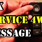 How To Fix 'service 4Wd' Message On 1999 2002 Gmc Truck/suv   Youtube   Chevy 4X4 Actuator Wiring Diagram