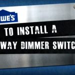 How To Install A 3 Way Dimmer Switch   Youtube   3 Way Dimmer Switch Wiring Diagram