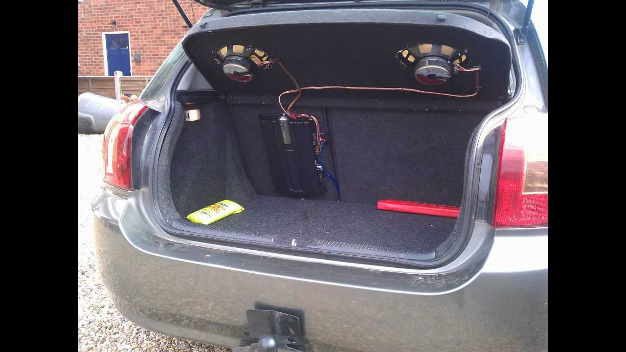 How To: Install A Car Amplifier & Wiring - Youtube - Car Amplifier Wiring Diagram Installation