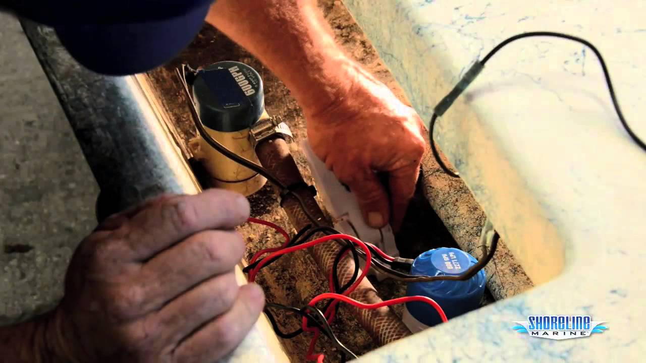How To Install A Float Switch & Bilge Pump - Youtube - Bilge Pump Float Switch Wiring Diagram