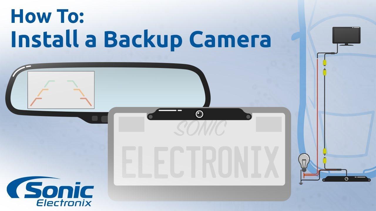 How To Install A Rear View Backup Camera   Stepstep Installation - Leekooluu Backup Camera Wiring Diagram