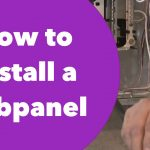 How To Install A Subpanel   Youtube   Sub Panel Wiring Diagram