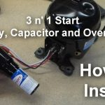 How To Install A Universal Relay (3 N 1 Starter) On Your Compressor   Supco 3 In 1 Wiring Diagram